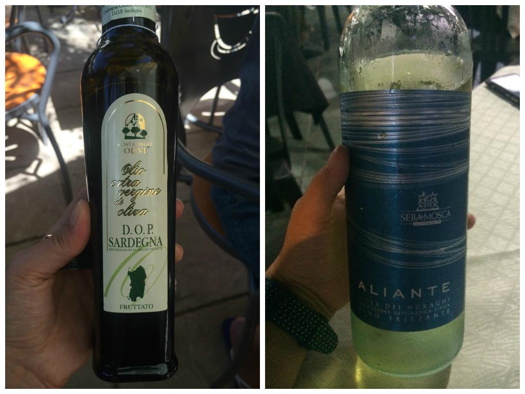 Sardynia wino i oliwa