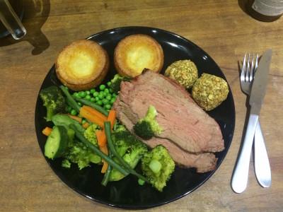 W wizytą u Anglika na niedzielny obiad