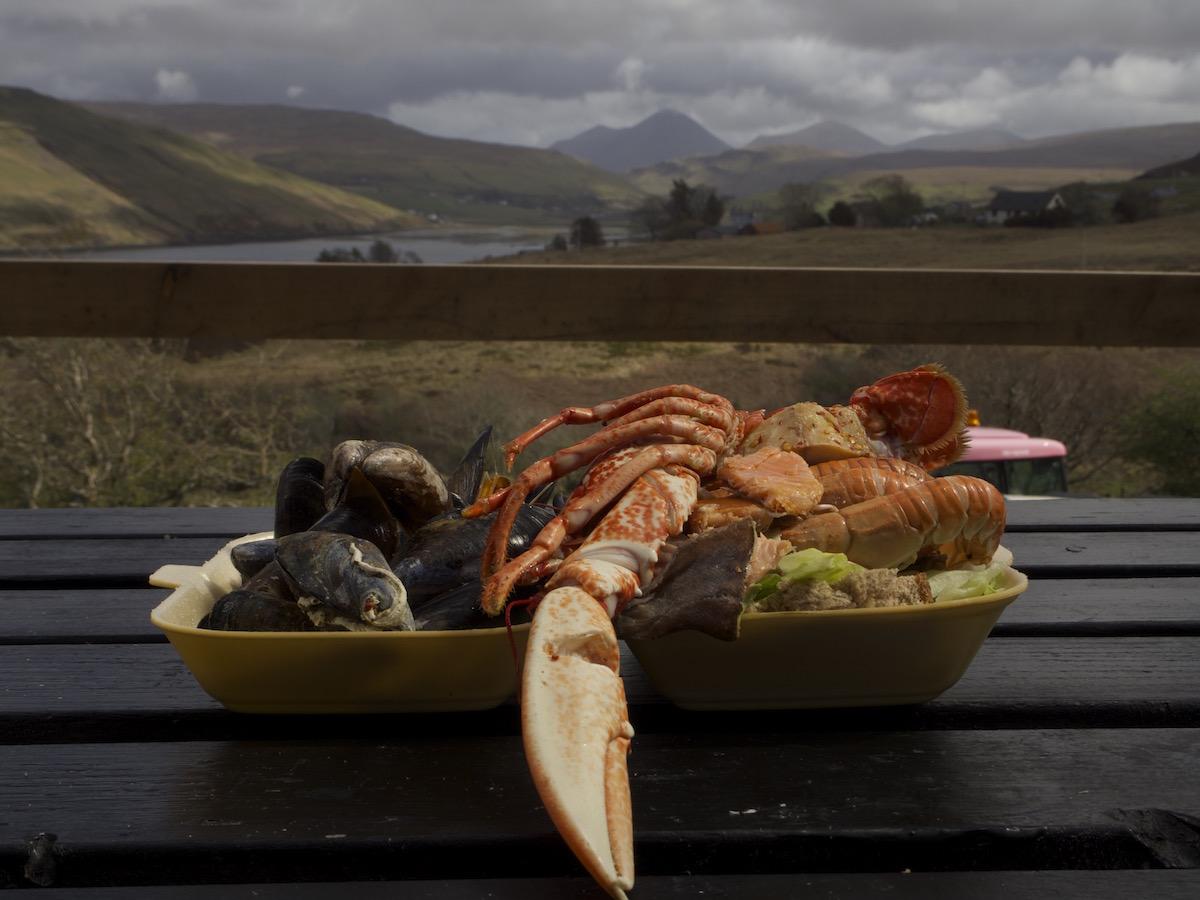 Sharing Platter - pół homara i milion innych żyjątek