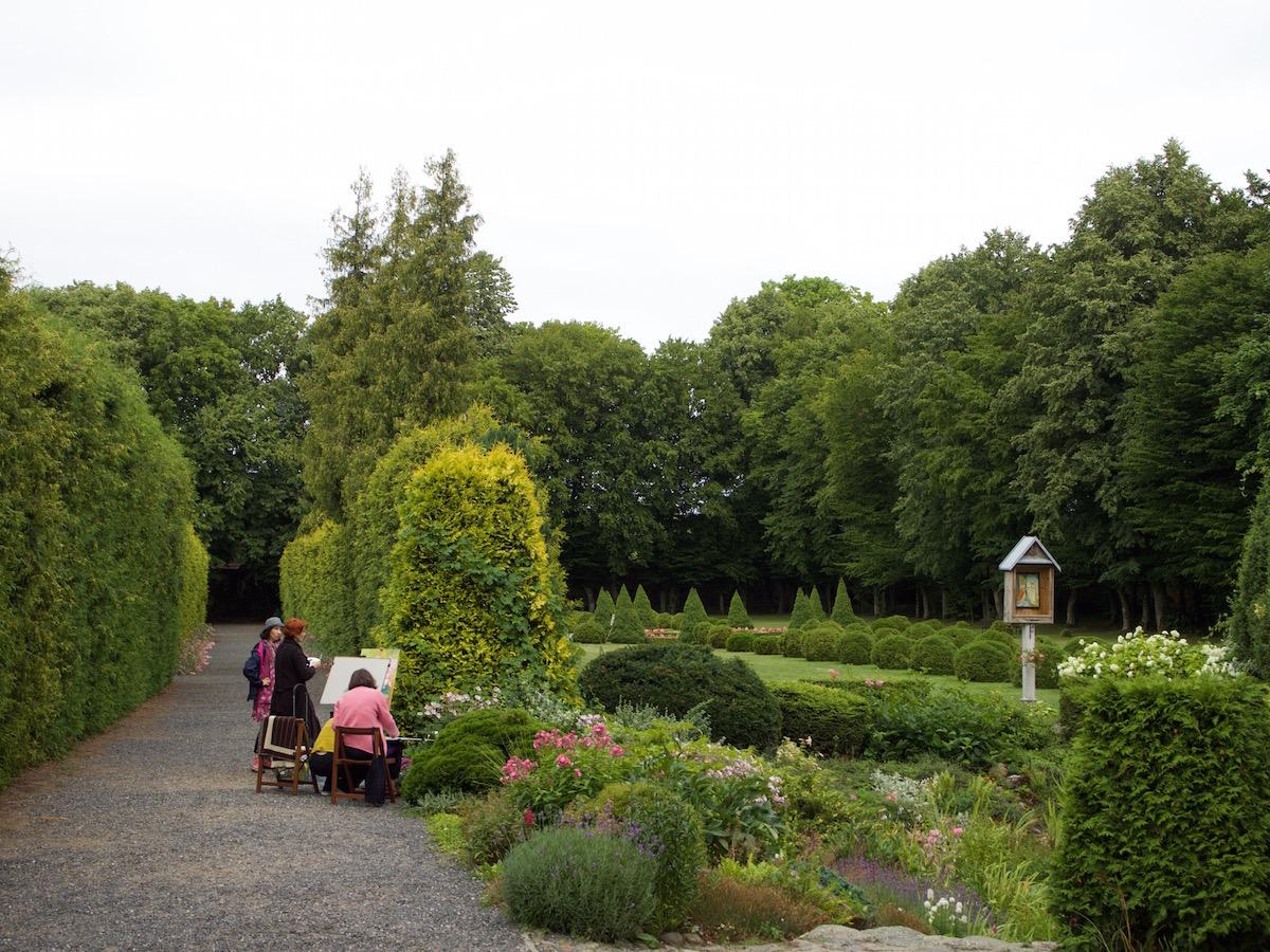 Stoczek Klasztorny Ogród