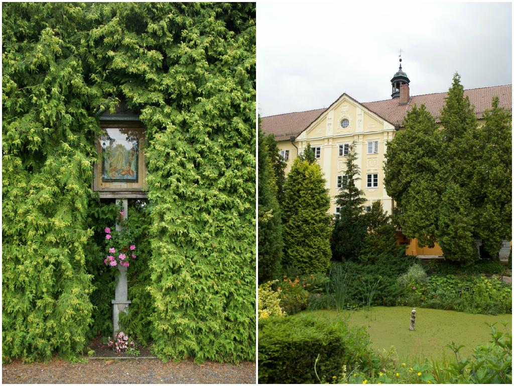 Stoczek Klasztorny Klasztor Ogród