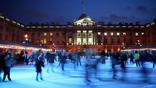 Najpiękniejsze lodowiska w Londynie
